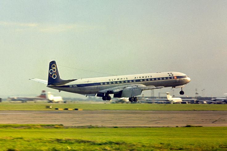 Olympic Airways De Havilland DH-106 Comet 4B (Queen Olga) [SX-DAL]