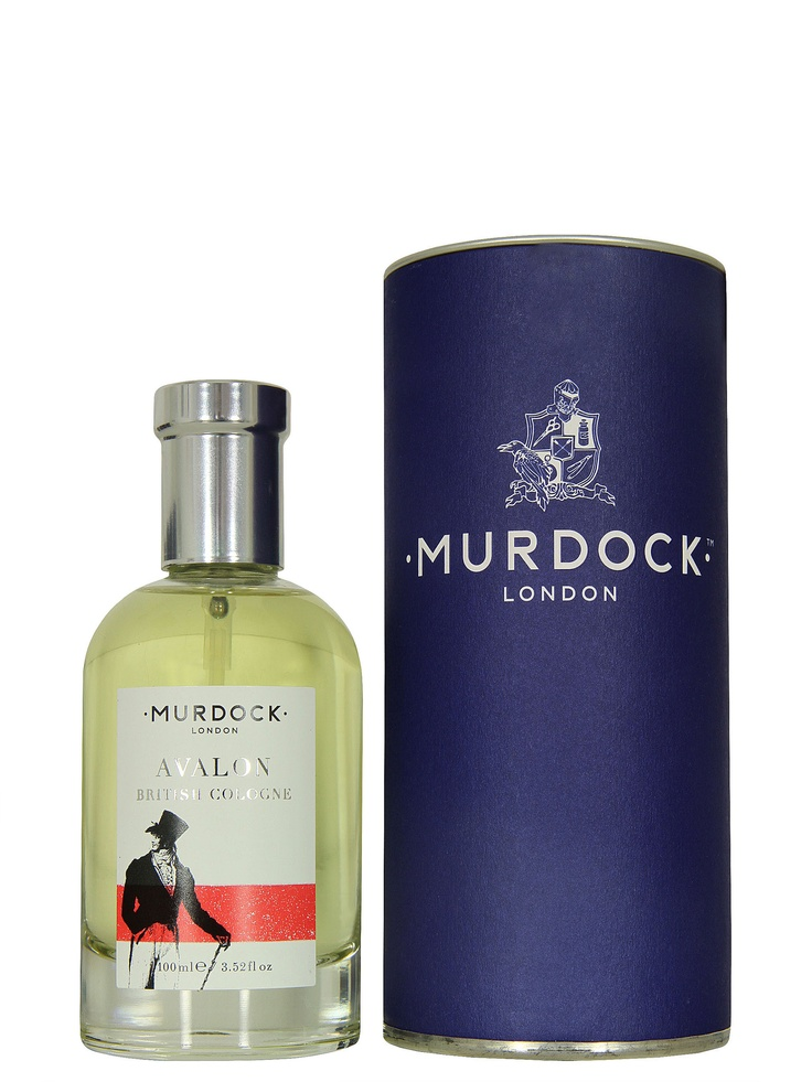 Murdock London £70 at Coggles.com– Avalon, mens British cologne. Murdock's Avalon fragrance is a modern twist on a classic Edwardian recipe. With a refreshing citrus base, this summery scent will stay with you all day.    Fragrance notes include Sicilian bergamot, Calabrian lemon and lavender from the Haute Provence.
