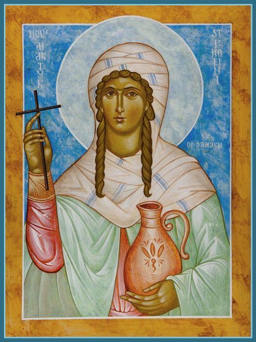 St photini religious art holy women iconographi photini woman