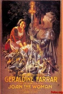 Joan of Arc (1916) de Cecil B. DeMille. Visto el 02/11/2015