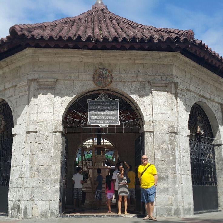 Carl Stymiest - Cross of Magellan,  Santo Nino Basilica, Cebu, Philippines 2015