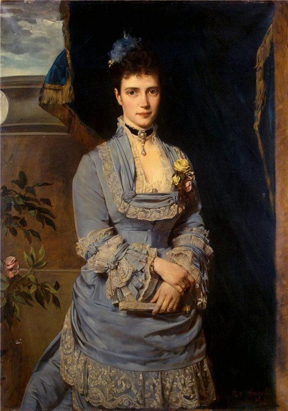 Maria Feodorovna Romanova - the penultimate Russian empress, wife of Tsar Alexander III, the mother of the last Russian Tsar Nicholas II. http://retro-ladies.livejournal.com/572008.html?nojs=1