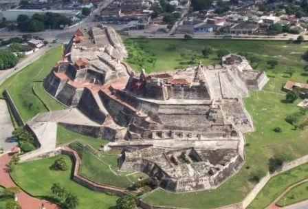 Castillo de San Felipe, Cartagena -Colombia
