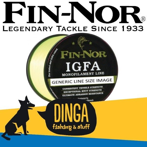 Buy Fin-Nor IGFA Monofilament #Fishing #Line offered by Dinga Fishing Tackle Shop in Australia!