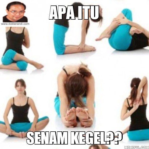 Kegel adalah suatu latihan otot dasar panggul pubococcygeal atau otot PC adalah otot yang digunakan untuk menahan keinginan buang air kecil atau menahan buang air saat bercinta. Latihan kegel bagi perempuan membantu mendapatkan kontrol otot-otot bagian atas vagina sehingga bisa mendapatkan kepuasan seksual yang lebih besar.