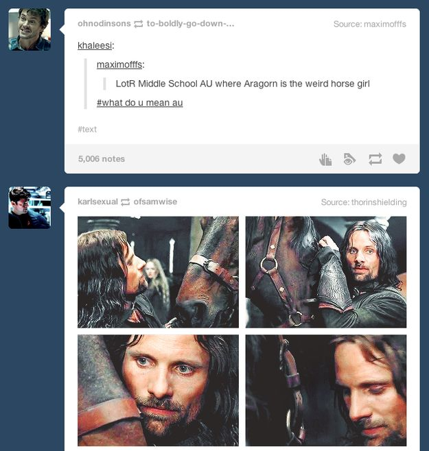 This truth about Aragorn.