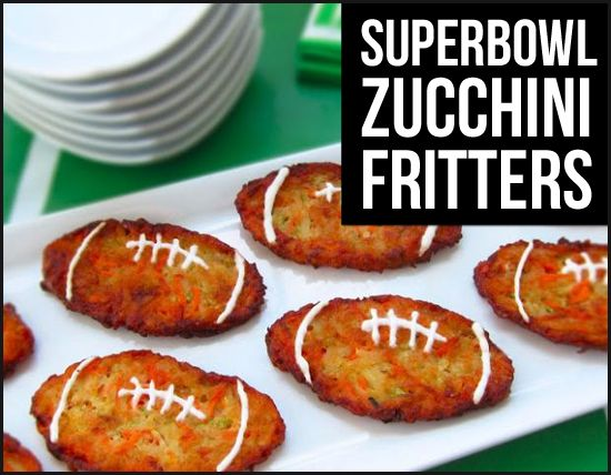 Perfect fun and healthy snack for the Superbowl!
