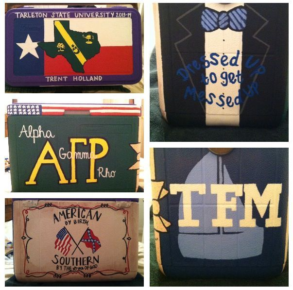 alpha gamma rho coolers - Google Search