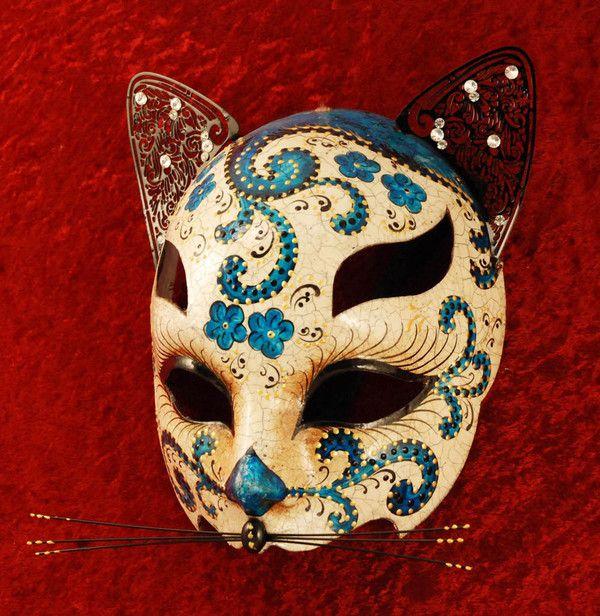 Les 25 meilleures id es de la cat gorie masque de chat sur pinterest masque chat masque de - Patron masque de nuit ...
