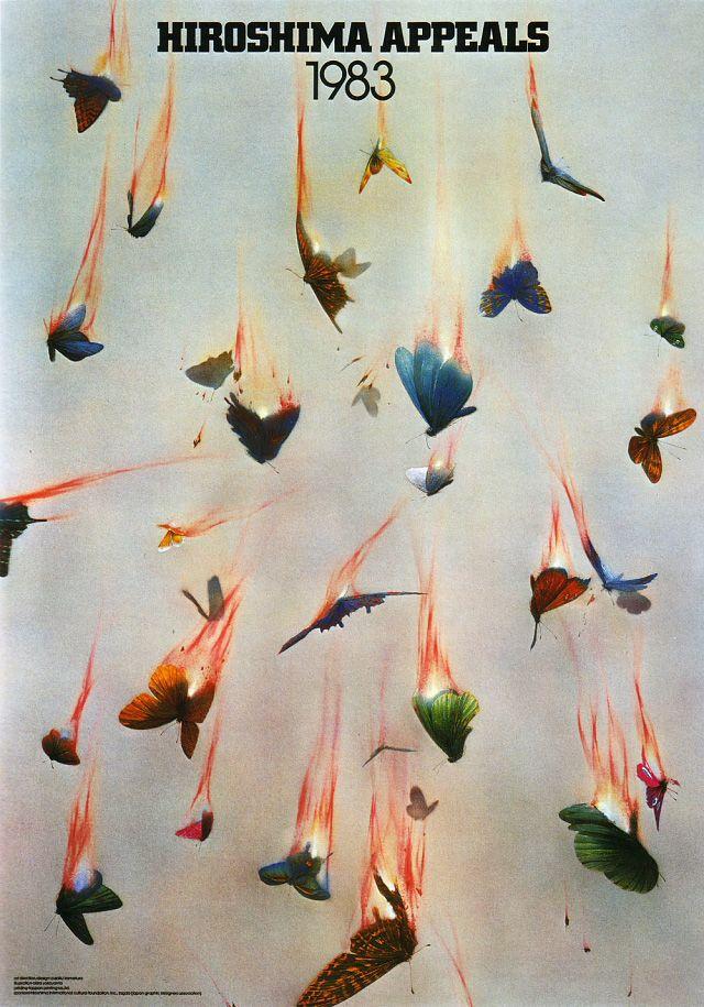 Japanese Poster Design :Hiroshima Appeals (Yusaku Kamekura, 1983)