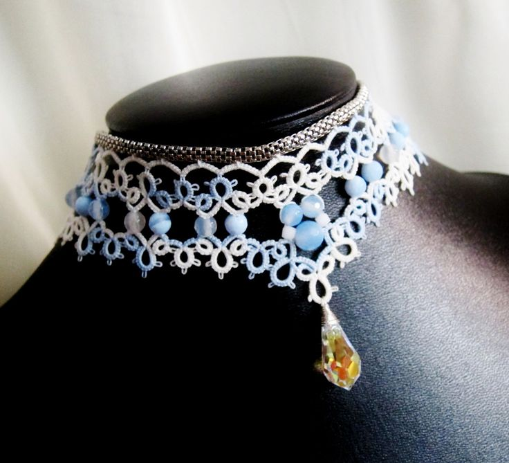 Stunning Tatted necklace