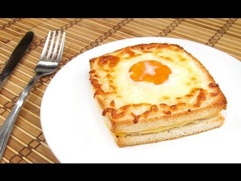 Sandwich Croque-Madame | Receta Fácil! - YouTube