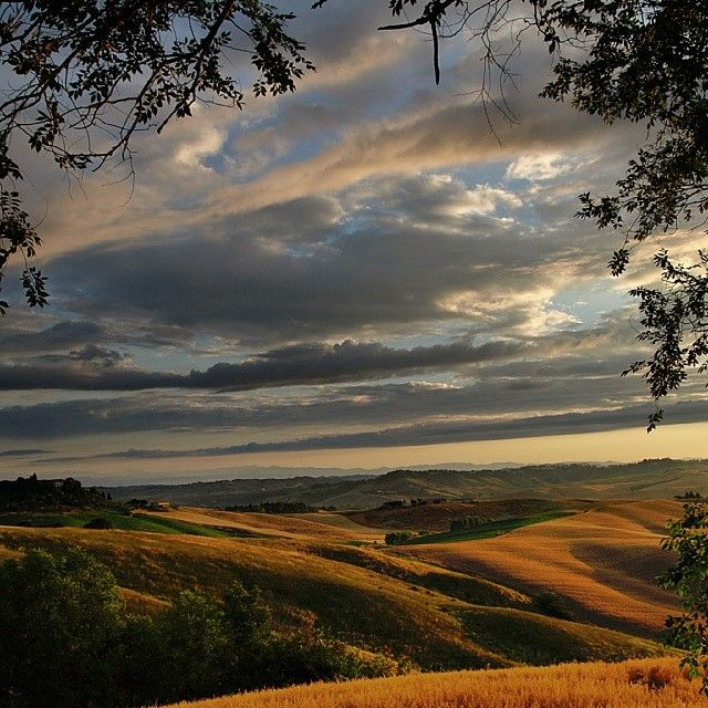 Val d'orcia by
