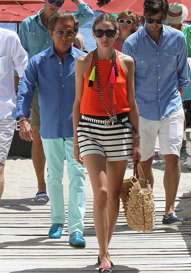 THE OLIVIA PALERMO LOOKBOOK: Olivia Palermo in Greece