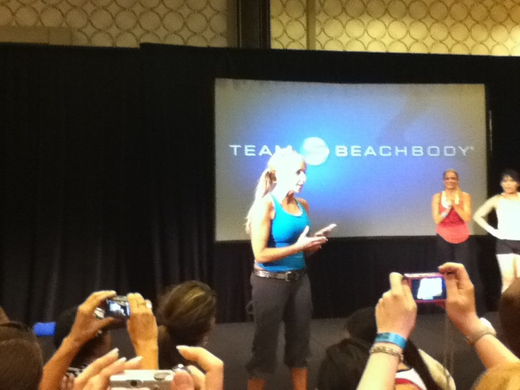 Live Turbo Fire Workout with Chalene Johnson at Beachbody Coach Convention 2011