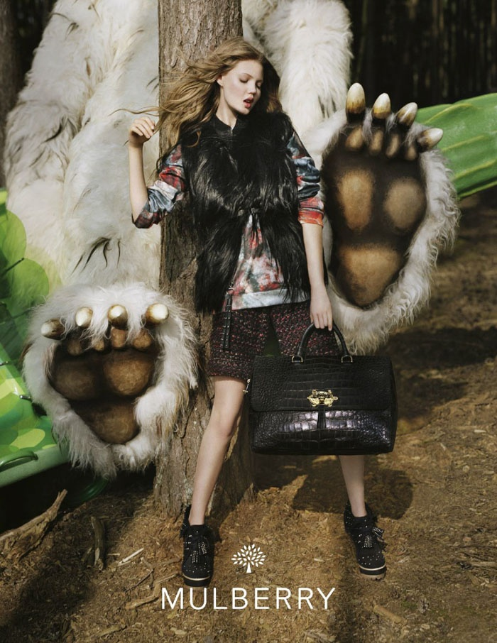 """""""Where the Wild Things Are"""" Mulberry ad campaign"""