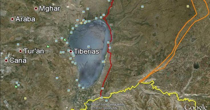 Fakta Mengejutkan: Danau Tiberias Mengering, Tanda Munculnya Dajjal Semakin Dekat
