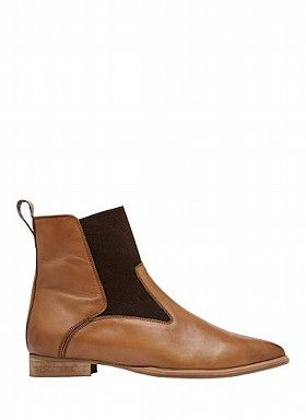 Womens Shoes | Delia Gusset Detail Boot | Seed Heritage