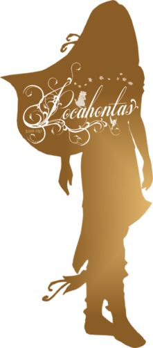 Pocahontas Silhouette - Disney Princess Photo (37757460) - Fanpop