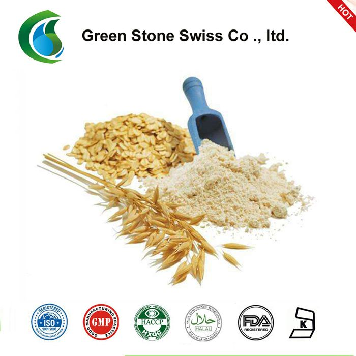 Oat (Avena sativa) is a light-green annual grass with a bushy root. Since oat is a dietary fiber, it influences the regularity of bowel movement. Oat is often used for disorders of the gastrointestinal tract, gallbladder, kidney, and cardiovascular systems. It is used for constipation, diarrhea, rheumatism, throat and chest complaints, fatigue, hypertension, lowering uric acid levels, and in tonics. Oat is said to have sedative, and diuretic effects.