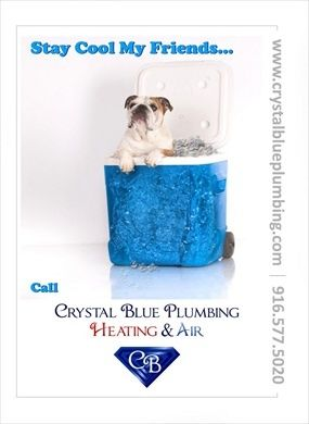 Don't be caught out in the Summer heat. If your system is broken beyond repair, our skilled technicians can install a new system quickly to ensure maximum comfort in your home.  http://www.crystalblueplumbing.com/roseville-air-conditioning