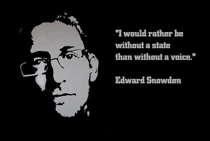 EDWARD SNOWDEN quote by ARTito