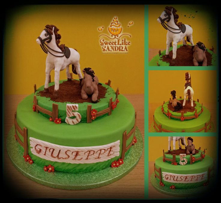 Torta cavalli - Horses Cake