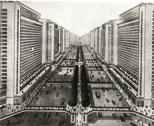 Ville radieuse // Le Corbusier