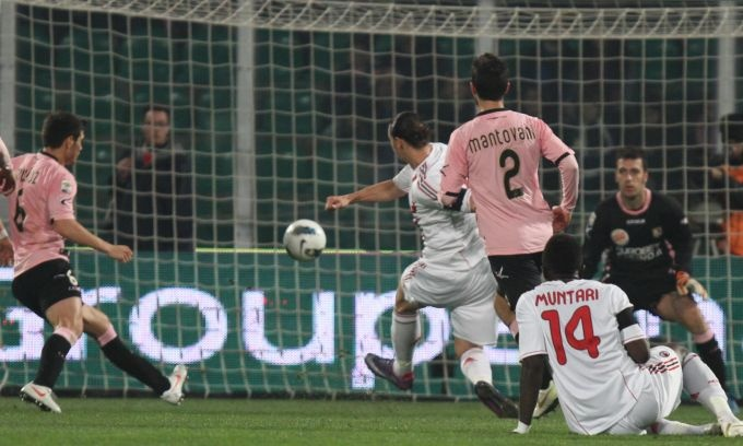 Palermo - Milan 0-4 #26agiornata