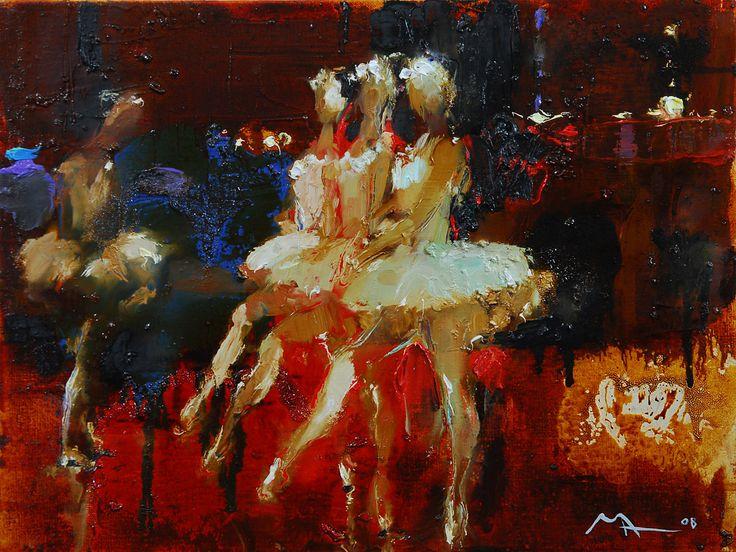 Alina Maksimenko, Oil on canvas,