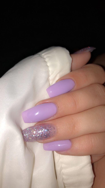 Dun Haar Verdikking Fijn Haar Verdikking Kapsels Gezond Haar Haar In 2020 Purple Acrylic Nails Purple Nails Acrylic Nails Coffin Short