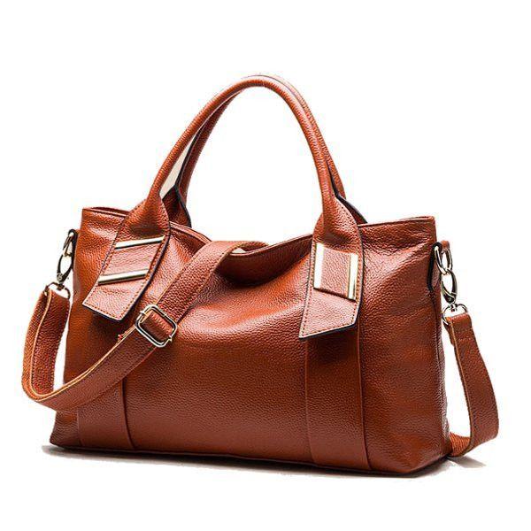 Women Pebbled Leather Elegant Bags Ladies Vintage Tote Shoulder Bags Crossbody Bags