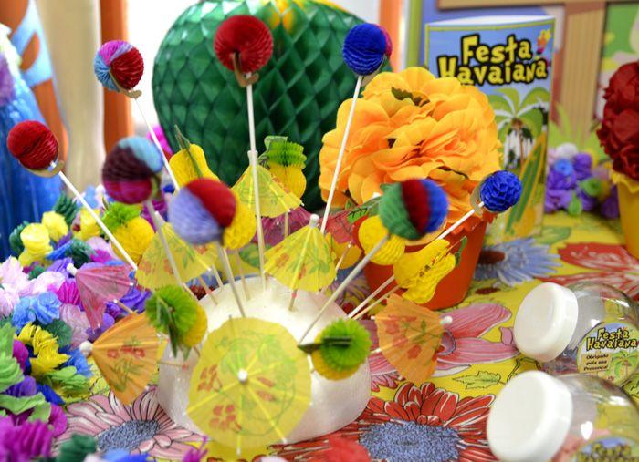 Detalhes da decoraç u00e3o de Festa Havaiana #havaiana #tropical #festa #party #decoracao #decoration  -> Decoracao De Havaiana