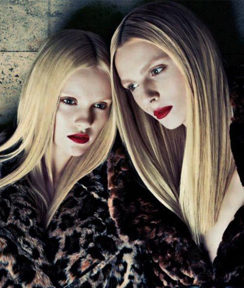 Image via We Heart It #fashion #gintalapina #photography #sebastiankim #andrejpejic