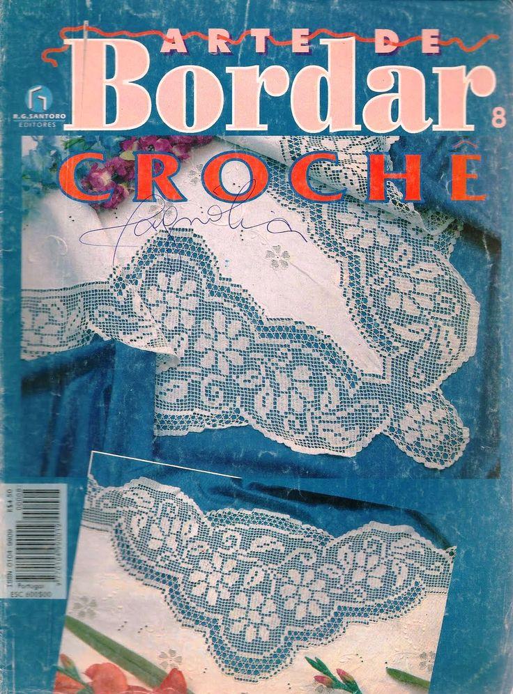 РУКОДЕЛИЕ:ВЯЗАНИЕ,ШИТЬЕ_КРОЙ: #Bordar08_croche