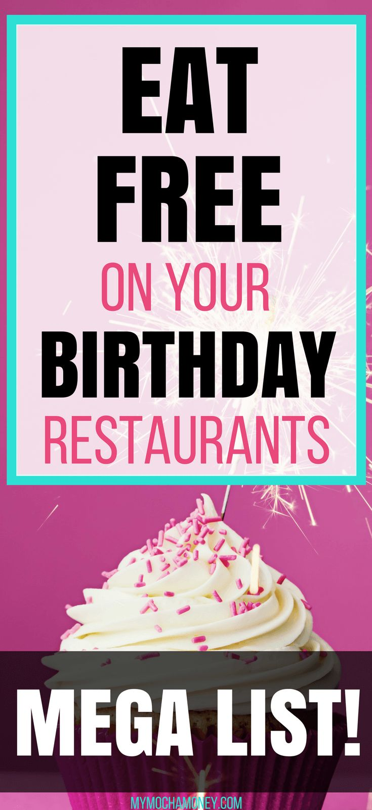 99 Restaurants – When you join the Ninety Nine eClub, you'll receive a free birthday dessert on your birthday BONUS Other restaurants not included in this listing will include restaurants in Disney World, Disneyland, Las Vegas, and other tourist destinations that tend to have non-chain restaurants.