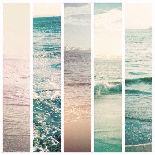 50 оттенков моря