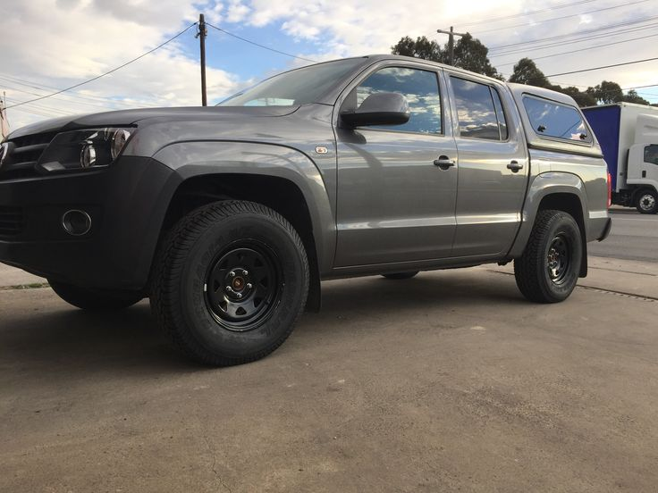 Federal A/T and dynamic rims fitted at VW Amarok  #grandtyres #Dynamicrims #federaltyres