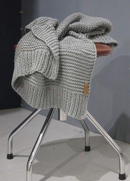 Kuschelige Babydecke zum selber Stricken - Strickanleitung via Makerist.de