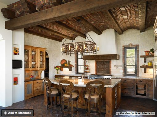 38 best spanish style kitchens images on Pinterest | Spanish style ...