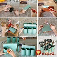 Идеи из использованных консервных банок