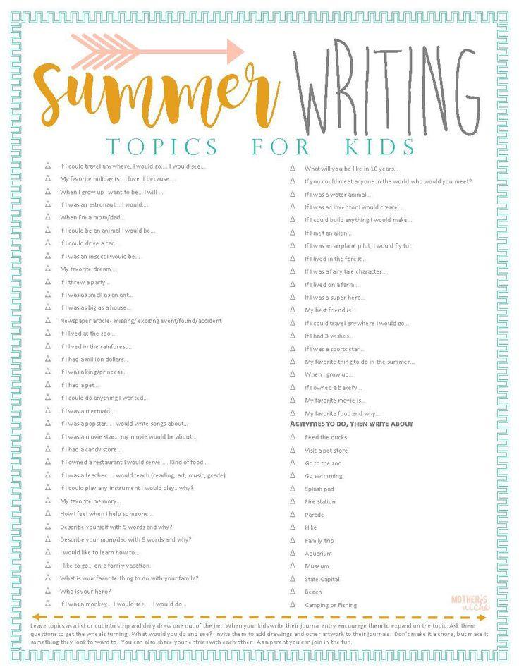 Suchen Sie ein paar lustige Dinge, die Sie im Sommer mit Ihren Kindern unternehmen können? Hier ist eine kostenlose …