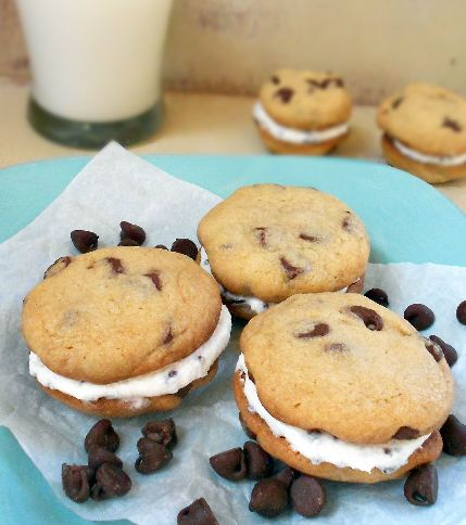 Sugarly Ever After: Chocolate Chip Whoopie Pies