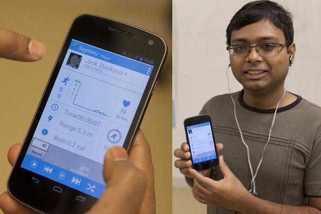 運動中の心拍数を制御するために選曲してくれるアプリ