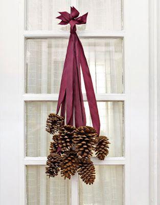 Easy Christmas door decor