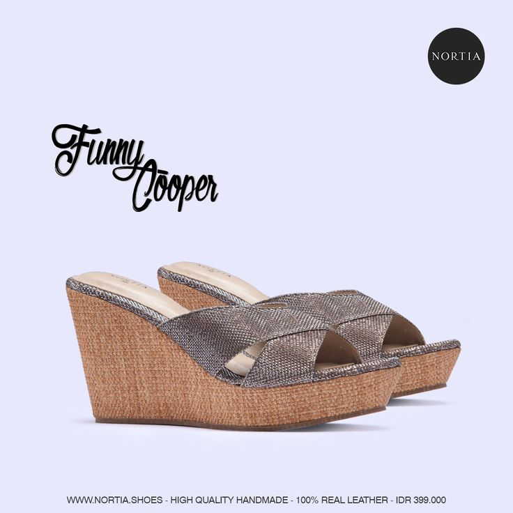 Nortia's Intimate Funny Cooper. Check out our website for more fabulous style www.nortia.shoes #brandnew #wedges #fashion #comfort #smartlooks