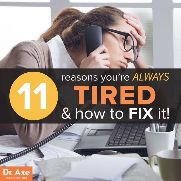 Always tired and how to fix http://www.draxe.com #health #holistic #natural