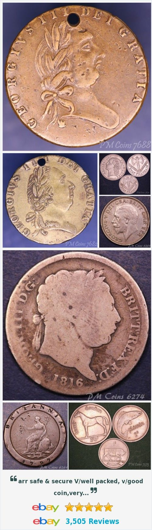 Ireland - Coins and Banknotes, UK Coins - Shillings items in PM Coin Shop store on eBay! http://stores.ebay.co.uk/PM-Coin-Shop/_i.html?rt=nc&_sid=1083015530&_trksid=p4634.c0.m14.l1513&_pgn=4
