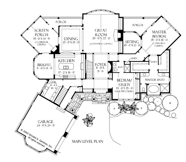 Architecture craftsman style homes floor plans story Classic cottage house plans