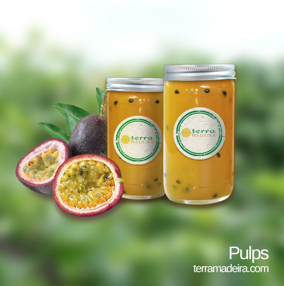 Our Pulps are natural products with no added preservatives, which makes it ideal for healthy living every day of the year. #terramadeira